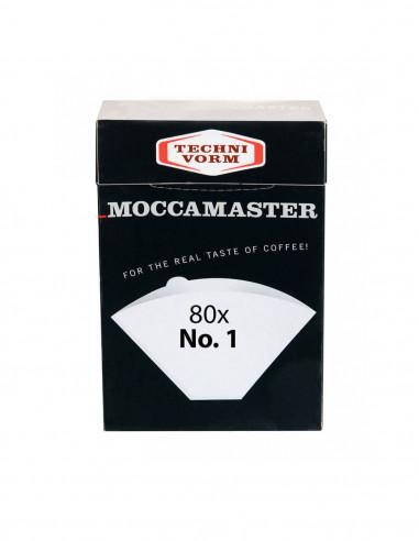 موكاماستر - مصفي ورقي مقاس 1 يكفي لكوب واحد