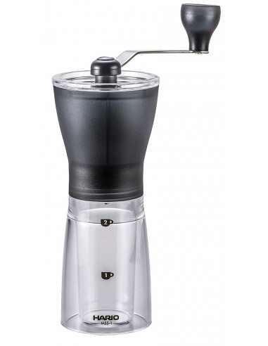 هاريو - طاحنة قهوة صغيرة بذراع