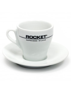 روكيت - مجموعة أكواب الفلات وايت 6 قطع