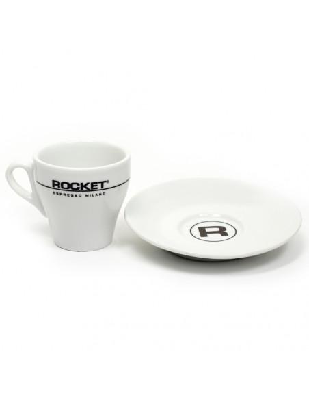 Buy Rocket Flat White Cups 162ml, 6 pcs in Saudi Arabia