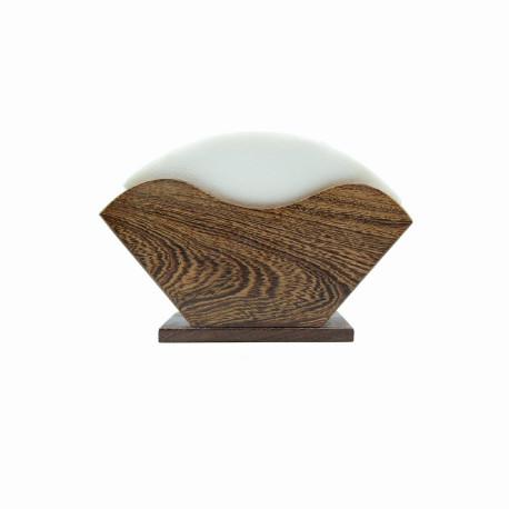 حامل أوراق الترشيح من خشب البامبو
